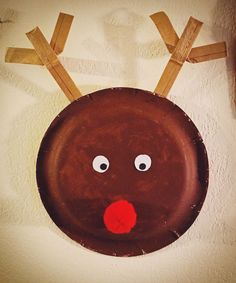 Recycled Reindeer-- 25 days of Kid's Christmas Crafts