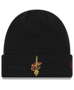 New Era Cleveland Cavaliers Breakaway Knit Hat - Black Adjustable Knit Hat  For Men 4b99ff500