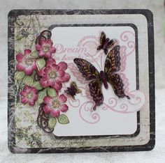 Heartfelt Creations - Butterfly Medley - Botanical Wings Die