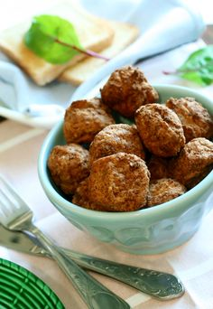 Michael Symon's Pork & Ricotta Meatballs