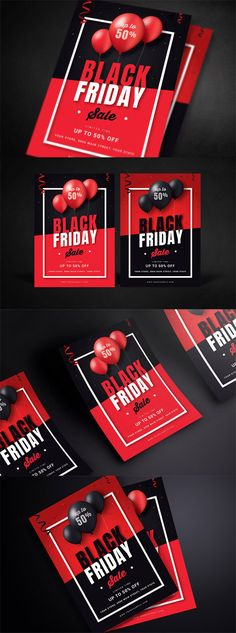 Download Black Friday Sale Flyer PSD Free