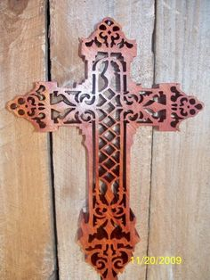 Scroll Saw Cross