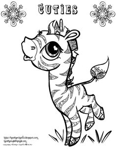 Learning Friends Sheep baby animal coloring printable from