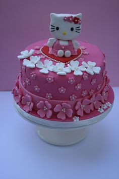 Hello+Kitty+-+Hello+Kitty+made+out+of+fondant+following+a+tutorial+by+Royal+Bakery.++This+cake+was+for+a+six+year+old+girl+who+asked+for+pink,+flowers+and+a+Hello+Kitty!+The+cake+itself+was+chocolate+with+chocolate+fudge+filling