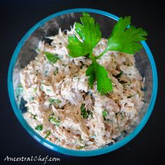 Paleo Tuna Curry Apple Salad Recipe (make with chicken, too)