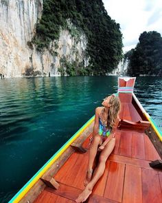 Cheow Lan Lake in Khao Sok National Park, Surat Thani | 14 Ways To Explore Thailand That Aren't Just Booze And Full Moon Parties