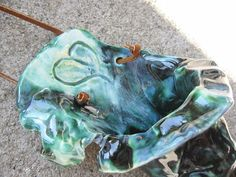 Teal Wall Vase' by SoulfulArt on Etsy