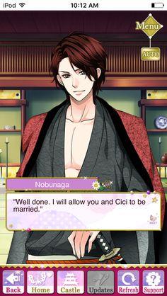 Mitsuhide story event-Ascension of Divine Bride event #SamuraiLoveBalladParty