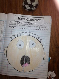 Describe your main character in narrative writing!