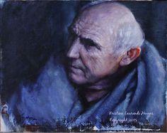 Game of Thrones Fan Art Maester Luwin  Original Oil by Krystyna81