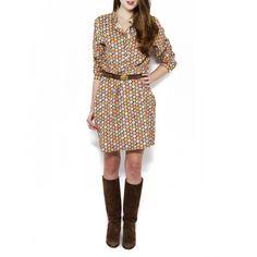 Ann Mashburn Corduroy Shirtdress / AnnMashburn.com