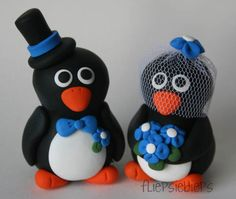 Penguin Wedding Cake Toppers | Flickr - Photo Sharing!
