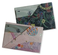 How to: Origami gift card case - one of many items on Origami Club website.