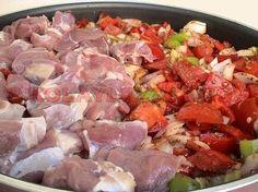BELEN-TAVA-(İskenderun,-Antakya,-Hatay) Turkish Recipes, Ethnic Recipes, Meat Steak, Turkish Kitchen, Food Porn, Egyptian Food, Food Facts, Bon Appetit, Meat Recipes