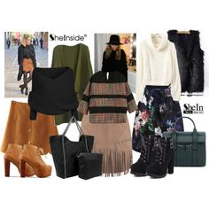 Fall Closet with Sheinside by gabriele-bernhard on Polyvore featuring Sheinside and shein
