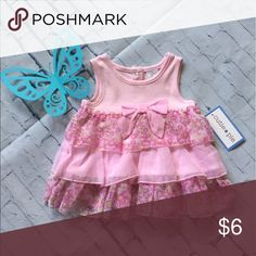 Cutie Pie pink ruffle dress Sz 3-6 mths Soft and sweet pink ruffled sleeveless dress. Size 3-6 mths. Tags still on it! Cutie Pie Dresses Casual