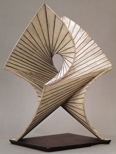 Antoine Pevsner, Developable Surface 1938- August 39, bronze and copper. Peggy…