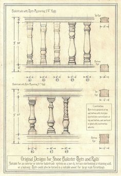 Original Balustrade Designs by Built4ever.deviantart.com