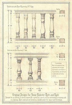Original Balustrade Designs by Built4ever.deviantart.com on @deviantART