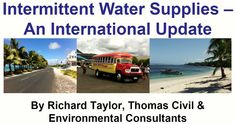 Infrastructure asset management practitioners learn that intermittent water supply is to be avoided as the 'Vicious Cycle' keeps making your management and recovery harder. Asset Management, Water Supply, Environment, Ideas, Thoughts, Environmental Psychology