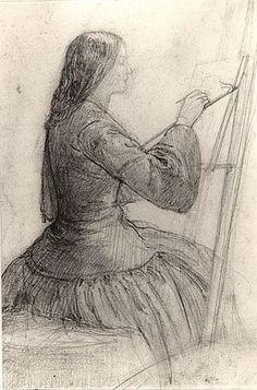 By Dante Gabriel RossettiJó ha ember alkot mert a szereplők helyébe is képzeljük magunkat akiket a képre rajzoltunk vagy festettünk
