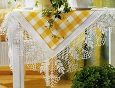 Gallery.ru / Photo # 49 - Tablecloths. Napkins. - Aliny