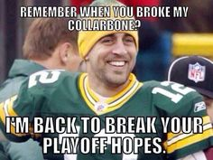 I love a rod cooking and preparing for the game :). I love football Packers Memes, Packers Funny, Funny Football Memes, Packers Baby, Go Packers, Nfl Memes, Packers Football, Sports Memes, Greenbay Packers