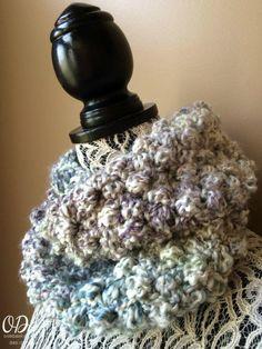 Simply Scrumptious Crochet Scarf Free Pattern