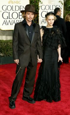 Johnny Depp and Vanessa Paradis Broke Up (1)