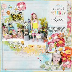 Layout created using {Flowers and Sunshine} Digital Scrapbook Collection by Red Ivy Designs available at Sweet Shoppe Designs http://www.sweetshoppedesigns.com//sweetshoppe/product.php?productid=33687&cat=810&page=2