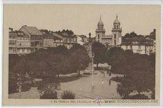 Plaza de Amboage Ferrol.