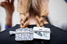 New York Fashion Week S/S 2015 #fashionweek #hair #bumble #fashion #KarenWalker #BbBackstage