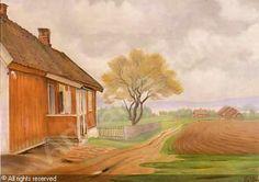 Harald Sohlberg 1869-1935: The house at Maridalen
