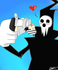 Soul Eater - Lord Death and Death the Kid