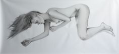 Genesis , pencil on paper 300X150 cm 2015