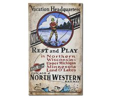 Vacation Headquarters Sign