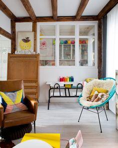 Casinha colorida: Chez Emilie: vintage boêmio e maximalista ( ou seria Kitsch mesmo?)