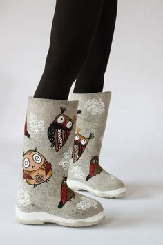 Fashion Shoes, Kids Fashion, Felt Shoes, Felted Slippers, Wool Socks, How To Make Shoes, Nuno Felting, Textiles, Childrens Shoes