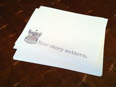 Free Your Story Matters Printable from Joy's Hope: Happy Day Project.