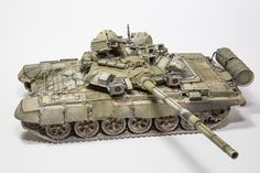 T-90A #scale #model #t90a #soviet #modern