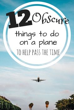 Things to do on a Plane | Airplane Tips | Long haul flights | Tips for Flyings on an Airplane