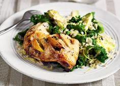 James Duigan Clean & Lean Diet Cookbook: Lemon-Roasted Chicken