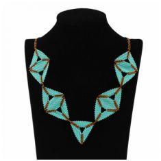 Collar Triángulos Secuencia