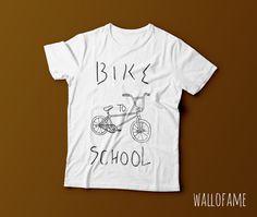 Bike to school Home nursery Cute Printable Wall Art by WallOFame