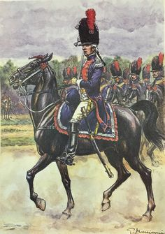 SOLDIERS- Benigni: NAP- France: French Carabinier 1791, by Pierre Benigni.