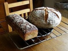 Tichý život: Nehnětené chleby kváskové How To Make Bread, Bread Making, Dumplings, Pizza, Baking, Eat, Recipes, Food, Buns