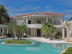 Villa Blanca in Punta Cana is a 5-bedroom luxury villa w/ butler that you can rent for your next vacation.
