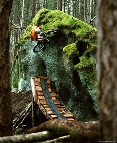 What a creative spot. Find and share mountain bike spots at www.youspots.com