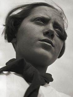 Pioneer Girl, Alexander Rodchenko, 1930
