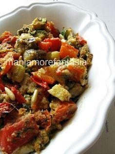 Un contorno di verdure croccanti, semplice ma gustosissimo, una ricetta light.